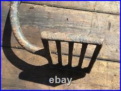 Antique Footstep Carriage/Cart Driving Horse Step wrought iron double foot step