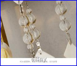 Crystal Shell Iron Wall Light LED Bedroom Wall Lamp Bedside Stairs Wall Fixtures