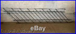 EARLY 1900'S WROUGHT IRON STAIRS RAILING. 11 Ft LONG. L@@k