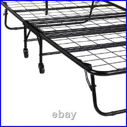 Folding Bed Cot 5 With Foam Mattress Guest Roll Away Portable Sleeper Sturdy New