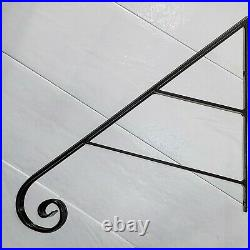 Grab Support scroll HANDRAIL 27 IRON HAND RAILING 1- 3 Stair Steps Safety Rail