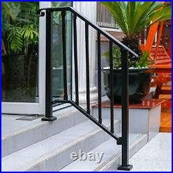 HandrailHandrail Picket Fits 2 or 3 Steps Mattle Wrought Iron Handrail Stair
