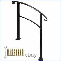 HandrailsHandrails for Outdoor Steps Sturdy Wrought Iron Handrails Outdoor St