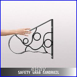 Handrails for Outdoor Step Wrought Iron Handrail Length Porch Deck Railing