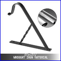 Handrails for Outdoor Steps Wrought Iron Handrail 16 Length Porch Deck Railing
