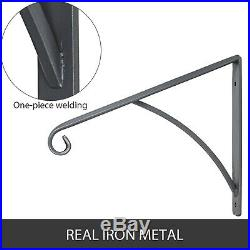 Iron Grab Rail Handrail Railing for 1-2 Steps Commercial Buildings with Groove