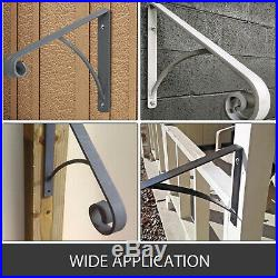 Iron Grab Rail Handrail Railing for 1-2 Steps Hand Rail Wall Mount with Groove