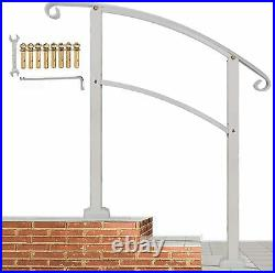 Metty Metal Handrails for Steps 3 Step Handrail Mattle Wrought Iron