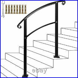 Stair HandrailHandrails for Outdoor Steps Sturdy Wrought Iron Handrails Outdo