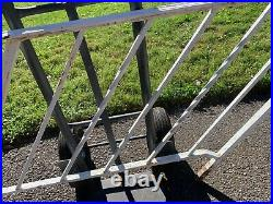 Vintage Antique 4-Step Heavy Duty Wrought Iron Railing/PICKUP ONLY