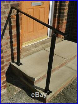 Wrought Iron Handrail For Stairs Elderly Access Safety Balustrade Garden Metal