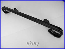 Wrought Iron Handrail Hand Rail Railing Wall Mounted 1 or 2 Steps 2 ft
