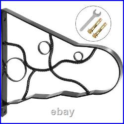 Wrought Iron Handrail Handrails for Outdoor Steps 18 Length Porch Deck Railing
