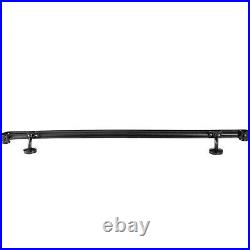 Wrought Iron Stair Handrail Stair Rail 3ft Fits 3 to 4 Step Handrail for Stairs